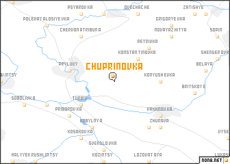 map of Chuprinovka