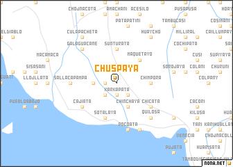 map of Chuspaya