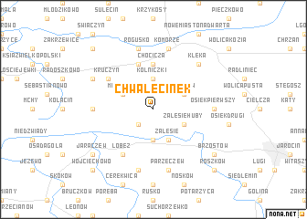 map of Chwalęcinek