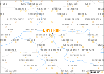 map of Chytrów