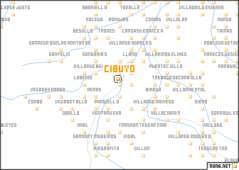 map of Cibuyo