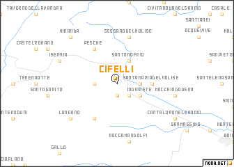 map of Cifelli