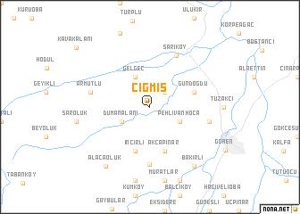 map of Çığmış