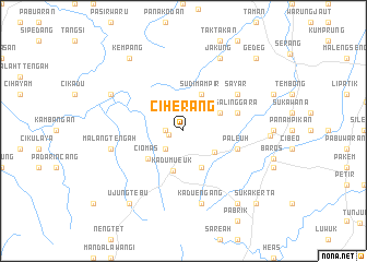 map of Ciherang