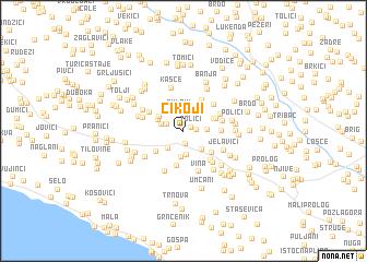 map of Cikoji