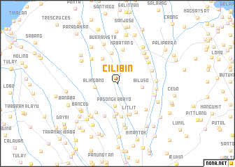 map of Cilibin