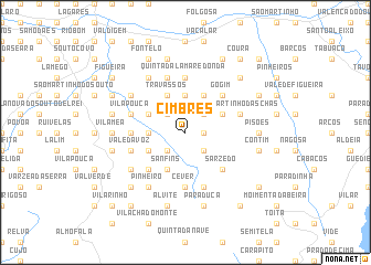 map of Cimbres