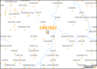 map of Cipeteuy
