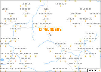 map of Cipeundeuy