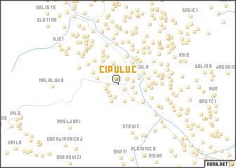 map of Cipuluć
