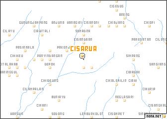 map of Cisarua