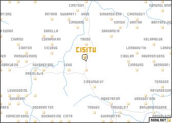 map of Cisitu