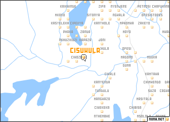 map of Cisuwula