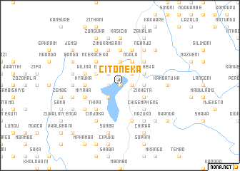 map of Citoneka