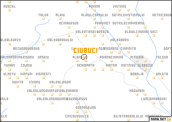 map of Ciubuci