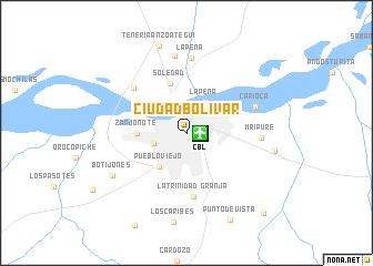 Ciudad Bolvar Venezuela map nonanet