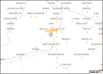 map of Clugin
