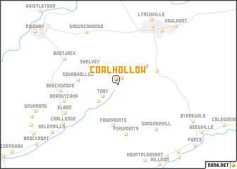 map of Coal Hollow