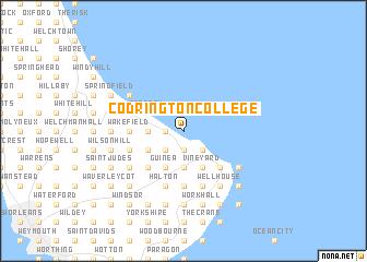 map of Codrington College