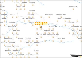 map of Co Gi San
