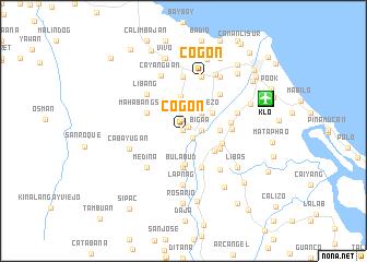 map of Cogon