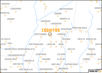 map of Coguitos