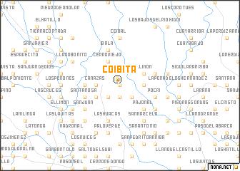 map of Coibita