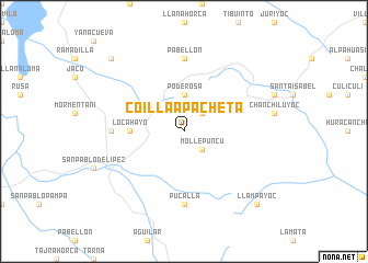 map of Coillaapacheta