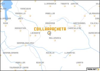 map of Coillaapacheta