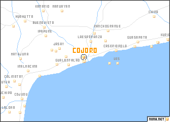 map of Cojoro