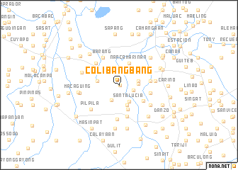 map of Colibangbang