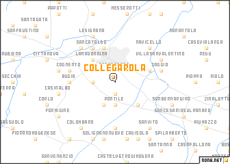 map of Collegarola