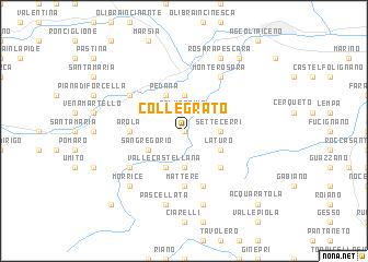 map of Collegrato