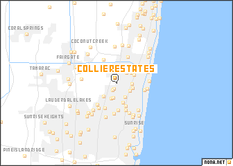 map of Collier Estates
