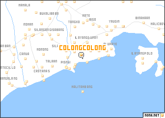 map of Colongcolong