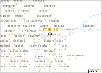 Comilla Bangladesh map nonanet