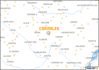map of Cominales