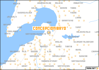 map of Concepcion-Ibayo
