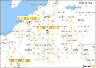 map of Concepcion