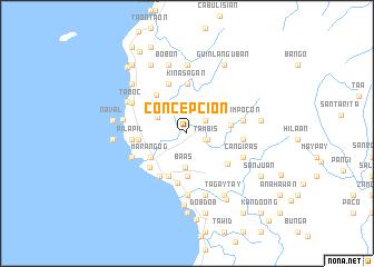 map of Concepcion