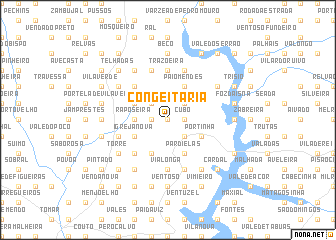 map of Congeitaria