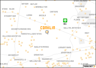 map of Conklin