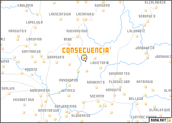 map of Consecuencia