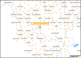 map of Consiempre