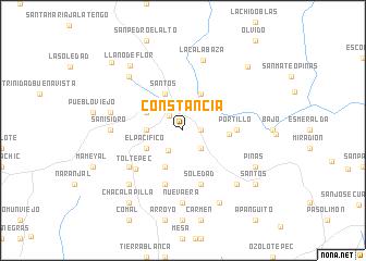 map of Constancia