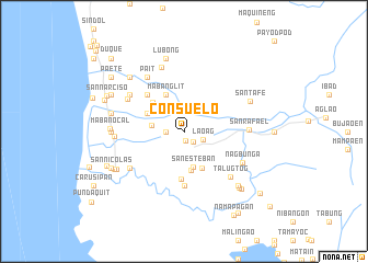 map of Consuelo