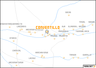 map of Conventillo