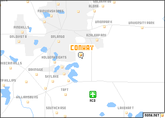 map of Conway
