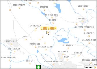 map of Coosada