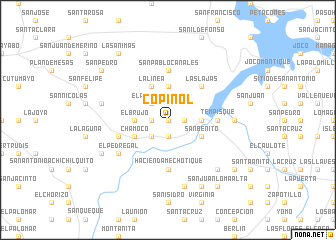 map of Copinol